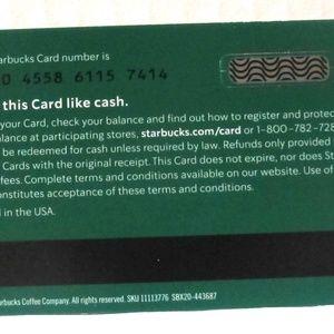 Starbucks Other - Starbucks 2020 My Favorite Teacher Card NO VALUE